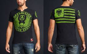 affliction american customs t shirts
