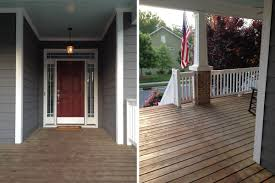 our new red front door em for marvelous