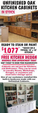 how to paint unfinished cabinets unfinished kitchen cabinets