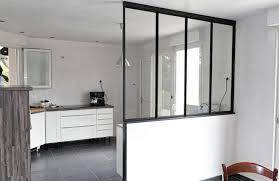 verriere entre cuisine et salon verrière entre cuisine et salon photo de rp métal création