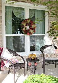 decorating a designer porch for fall
