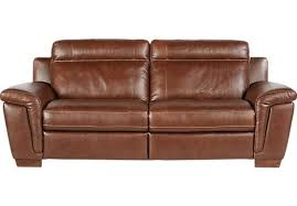 cindy crawford sofas shop for a cindy crawford home tuscany brown leather reclining