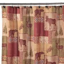 Bed And Bath Bath Accessories Shopko by Mountain Lodge Shower Curtain Shopko