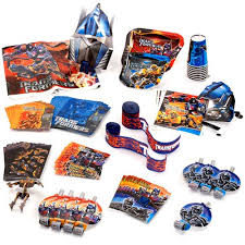 transformer party supplies transformers birthday party supplies pack for 24 b day