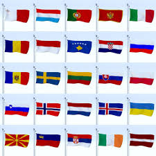 Europe Country Flags All 196 Flag Pack By Dragosburian 3docean