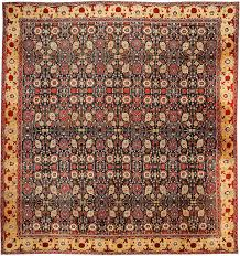 antique oriental indian agra carpet 43422 by nazmiyal