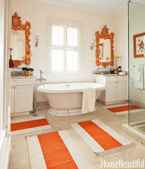 Best Color With Orange 70 Best Bathroom Colors Paint Color Schemes For Bathrooms