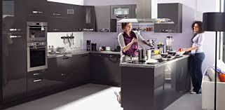 cuisine gris laqué cuisine gris laqu davaus ikea grise laquee avec des id es