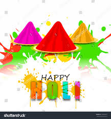 indian festival happy holi celebrations concept stock illustration