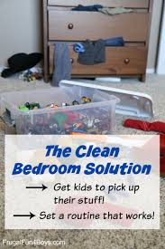 How To Have A Clean Bedroom How To Get Kids To Clean Their Own Rooms