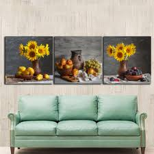 Paintings For Living Room by Online Get Cheap Sunflower Framed Art Aliexpress Com Alibaba Group