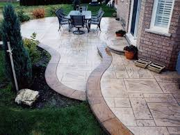 Concrete Backyard Patio by 55 Best Decorative Concrete Ideas Images On Pinterest Decorative