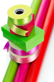 gift wrap boxes colourful ribbon boxes and gift wrap stock photo image 42122664