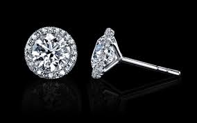 what size diamond earrings should i buy what is the best size for diamond studs everafterguide