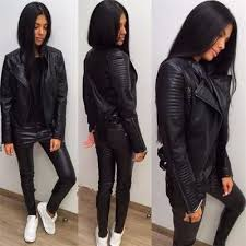 The Most Stylish Women U0027s Black Motorcycle Jacket U2013 Shoesity