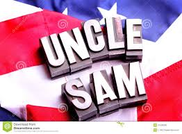 American Flag Words Uncle Sam On American Flag Stock Image Image Of Duty 21596203
