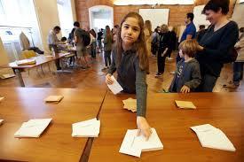tenue d un bureau de vote dans les coulisses d un bureau de vote