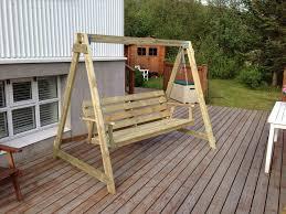 porch pallet bench swing home projects pinterest wondrous diy