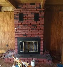 Remove Brick Fireplace by Renovation Diary Prefab Fireplace Removal U2014 Ruralie