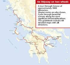 Greece Maps Cycling Through Greece