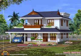house plan of beautiful contemporary home kerala home design