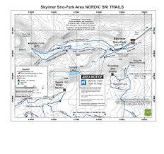 Maps Bend Oregon nordic and snowmobile trails near bend oregon