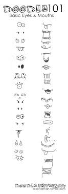 how to draw doodle faces best 25 doodles ideas on doddle