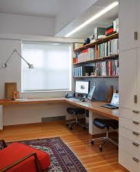 Built In Office Desk Built In Desk Ideas Home Office Contemporary With Wall Shelves
