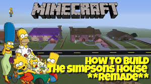 the simpsons house floor plan minecraft springfield project how to build the simpsons house