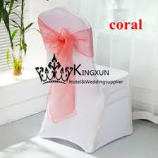 Inexpensive Chair Covers Discount Chair Covers Coral Sashes 2017 Chair Covers Coral