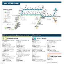 Metro Light Rail Schedule San Jose Metro Map Map Travel Holiday Vacations