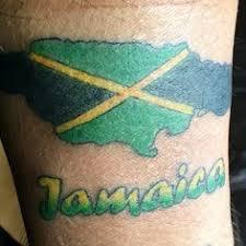 jamaican footprint by vandel royale my tattoos pinterest