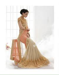 bridal collections sarees pink and golden bridal collections resplendent