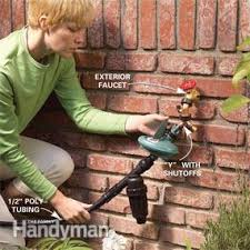 how to install an irrigation system in your yard family handyman
