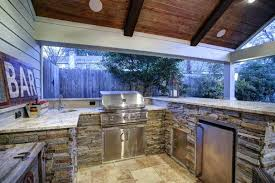 Outdoor Covered Patio Design Ideas Covered Outdoor Kitchen Bullishness Info