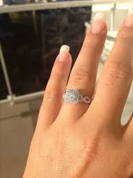 my wedding band my wedding ring what type of band will go with my engagement ring
