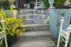 mosaic garden wall underwater themed tile hometalk