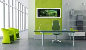 Comfortable Modern Office Design For Formal Situation  Modern - Contemporary office interior design ideas