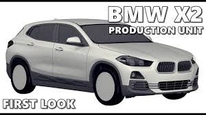 2018 bmw x2 production version revealed in patent sketches youtube