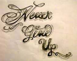 never give up tattoo pictures to pin on pinterest tattooskid