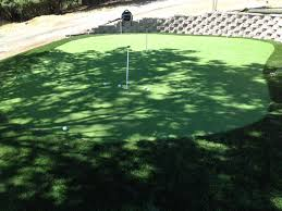 Putting Turf In Backyard Synthetic Turf North Salt Lake Utah Best Indoor Putting Green