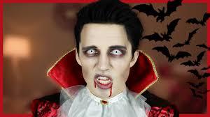 Halloween Makeup Dracula How To Thirsty Vampire Youtube