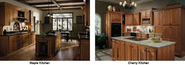 cherry wood kitchen cabinets photos popular kitchen cabinet composition a survey of hardwood options