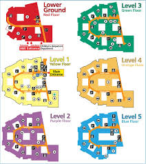 floor plan hospital patients and visitors map and floor plans