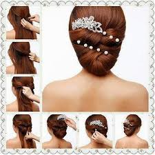 wedding hairstyles step by step instructions simple hairstyle step by step instructions google search hair