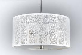 Esszimmer Deckenlampe Hängelampe Hängeleuchte Lampe Natur Deckenlampe 40cm Weiß
