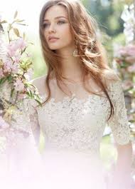 wedding dress necklines 30 gorgeous illusion necklines wedding dresses weddingomania