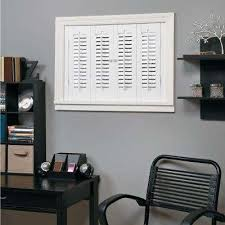 interior wood shutters home depot 1 up faux wood shutters plantation shutters the home depot