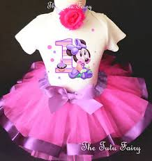 1st birthday tutu baby minnie mouse pink lavender girl 1st birthday tutu