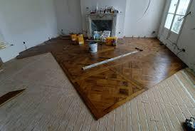 atelier des granges parquet starting the installation